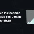 Umsatz steigern Online Shops