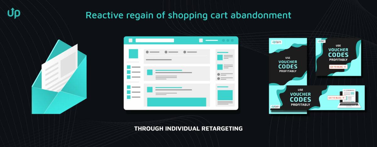 shopping cart abandoner email