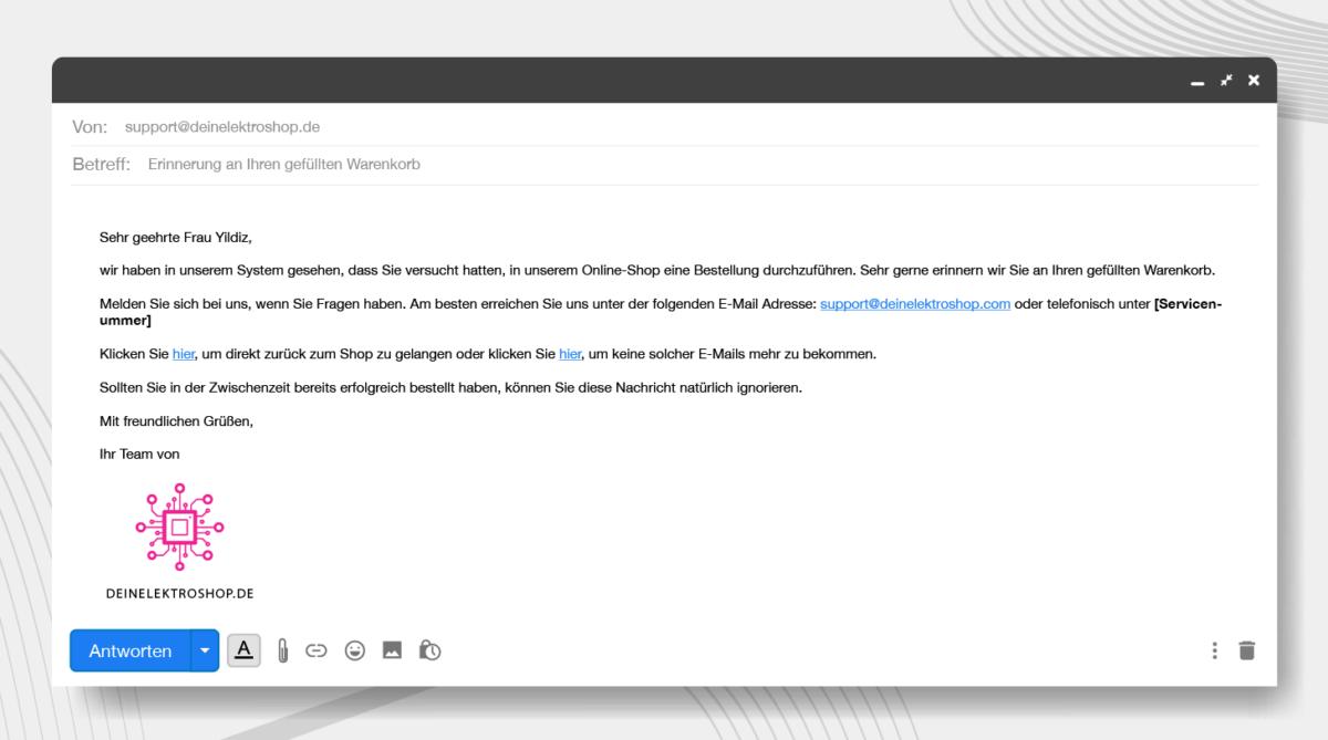 conversions steigern emails