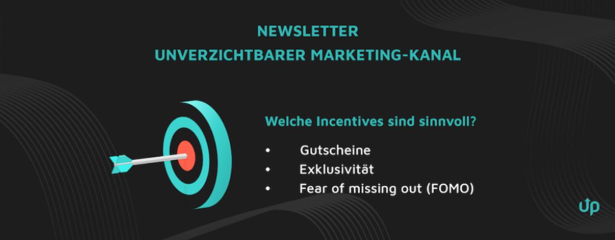 newsletter abonnenten generieren anreize