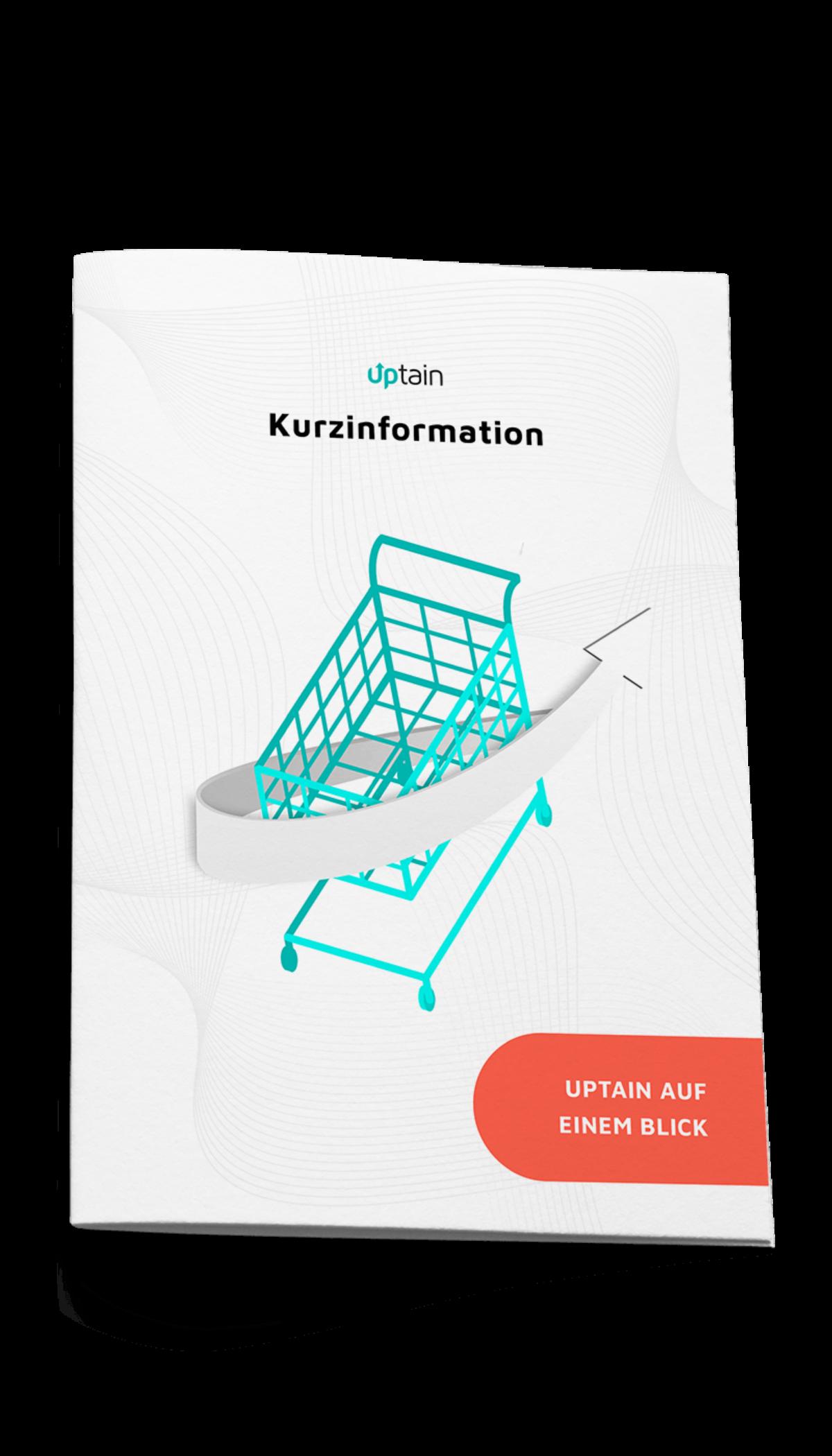 Kurzinformation uptain - Software gegen Kaufabbrüche im E-Commerce